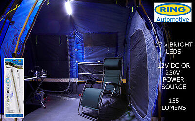 New Ring Flexi-Light Camping Tent, Caravan, Awning Light Strip RTL040 (27 LED)