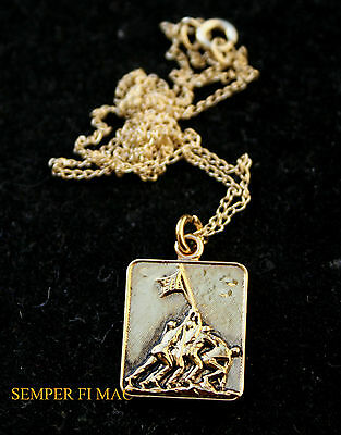 Us Marines Necklace Chain Pin Brother Daughter Dad Mom Aunt Mcrd Graduation Gift