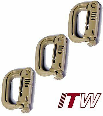 BROWN 3 PACK  ITW WEB DOMINATOR FOR SECURING LOOSE NYLON WEB STRAPS ITW100CBX3