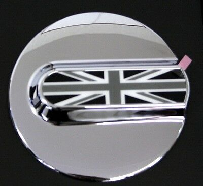 TANKDECKEL UNION JACK  BLACK FLAG Mini COOPER  R53 R50