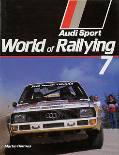 Buch WR07 World Rallying 7  Martin Holmes 1984 Yearbook