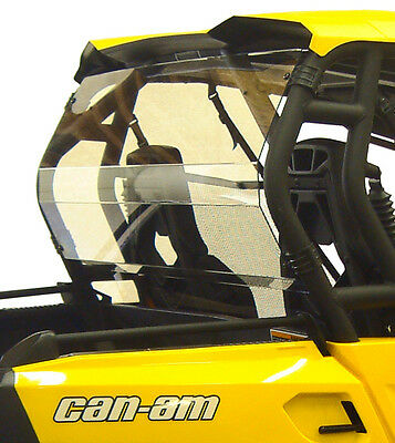 Can Am Commander Maverick Rear Window Shield Back Panel Brp 1000 800 Xt