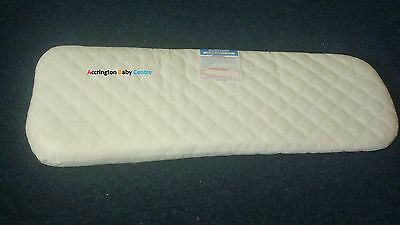 Quilted Breathable Pram Mattress Fits Silver Cross 3D Pram System Pram