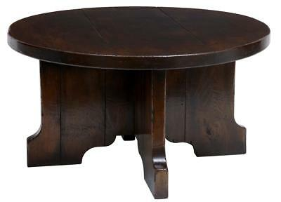 English Made Solid Oak Coffee Occasional Table