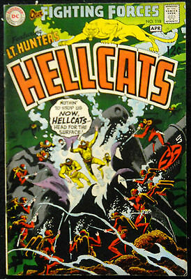 Our Fighting Forces #118 Fn- Hellcats