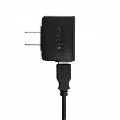 Verizon LG Phones OEM STA-U17WD Home Wall Travel Charger + USB Cable Adapter
