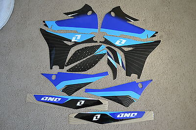 ONE INDUSTRIES DELTA  GRAPHICS  YAMAHA YZ250F 2010 2011 2012 2013 BLUE #391