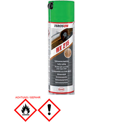 (25,10€/l) Teroson Terotex Hohlraumversiegelung Spray 500Ml