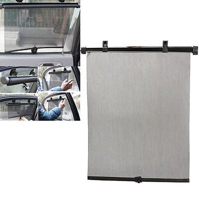 New Carpoint Car Rear Back Window Roller Blinds Sun Shades Pair Pull Down