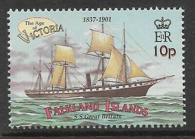FALKLAND ISLANDS 2001 SS GREAT BRITAIN SHIP 1v MNH