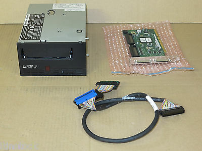 Dell Ultrium 3 LTO 3 Internal FH SCSI/LVD Tape Drive NP742 With Card And Cable