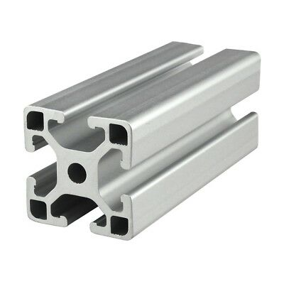 8020 Inc T-Slot 40mm x 40mm Aluminum Extrusion 40 Series 40-4040-Lite x 2440mm N