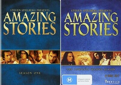 Amazing Stories TV Series Complete Season 1-2 (1 & 2) NEW DVD BUNDLE SET