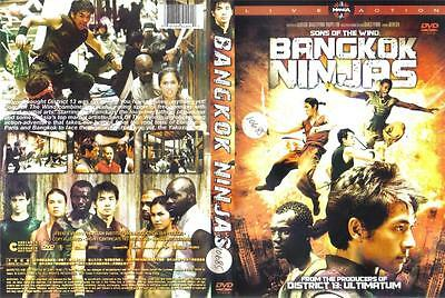 DVD: .....SONS OF THE WIND: BANGKOK NINJAS.....FRENCH VERSION/ENGLISH SUBTITLES