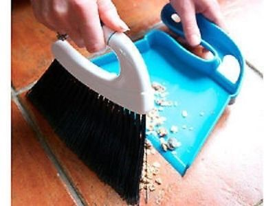 HERBIE'S YARD SUPPLIES MINI SWEEP DUSTPAN & BRUSH brushes cleaning dust pan