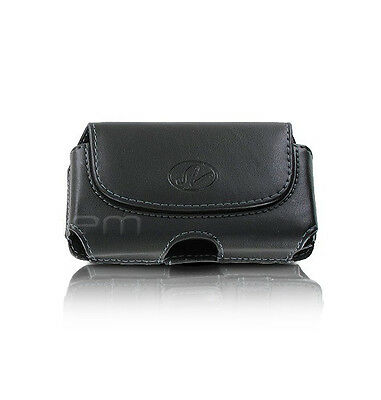 Premium Leather Pouch Cover Case Clip - See inside for full compatibility list