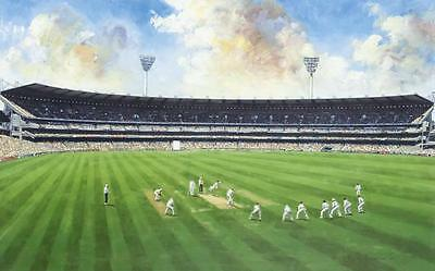 "CRICKET - PRINT: ""Full House at the Melbourne Cricket Ground"" by Dave Thomas"