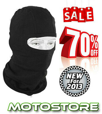 New Black Balaclava One Size Unisex Motorcycle Cycle Ski Enduro Mx Motorbike Mtb