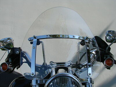 Clear Windshield for Honda Shadow 600 750 1100 Spirit Sabre Magna VT C2 VTX 1300