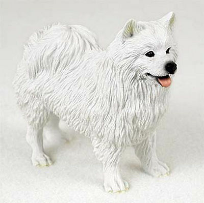 American Eskimo Hand Painted Collectible Dog Figurine