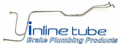 1966 1967 Chevrolet Chevelle T400 BB Trans Cooler Lines OE Steel