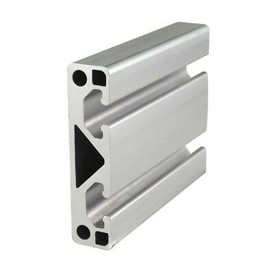 80/20 Inc T-Slot 80mm x 20mm Aluminum Extrusion 40 Series 40-8020 x 1220mm N