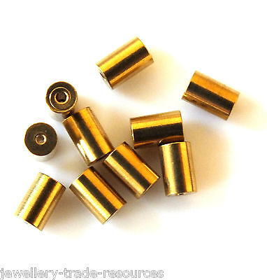 10x TAPERED CLOCK BUSH BUSHES INSIDE 0.9mm OUTSIDE 2.5mm - 2.6mm x 4mm LONG