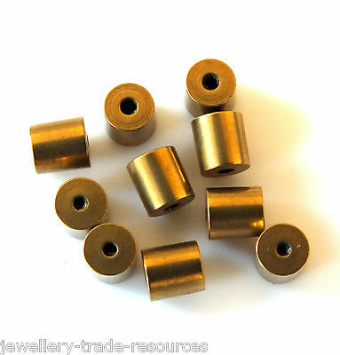 10x TAPERED CLOCK BUSH BUSHES INSIDE 1.1mm OUTSIDE 3.7mm - 3.8mm x 4mm LONG