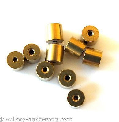 10x TAPERED CLOCK BUSH BUSHES INSIDE 1.1mm OUTSIDE 4.1mm - 4.2mm x 4mm LONG