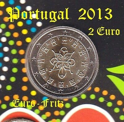 Portugal 2013  2 Euro   aus off. KMS  sehr selten ~**~