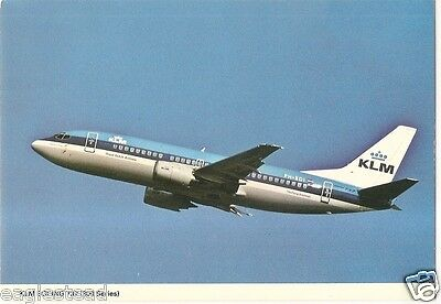 Airline Postcard - KLM - B737 300 series - PH-BDI (P2940)