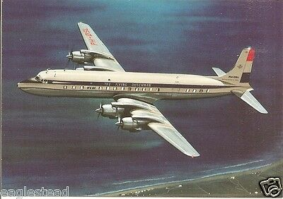 Airline Postcard - KLM - DC-7 C - PH-DSL (P2948)