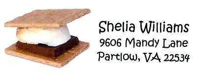 Smores 1 Address Labels