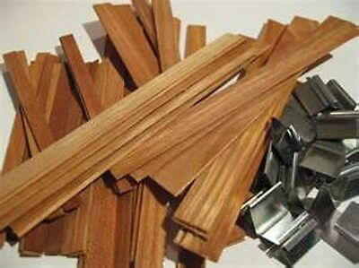 Wood Wicks For Candles Works Well With Any Wax Candle Making Supplies
