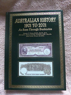 AUSTRALIAN HISTORY 1901-2001 seen through BANKNOTES Hardcover + Slipcase RRP$250