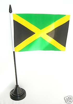 Jamaica Jamaican Table Desk Top National Flag -New