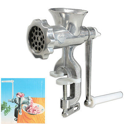 Hand Iron Beef Sausage Mincer Table Hand Manual Cast Meat Grinder Kitchen Tools