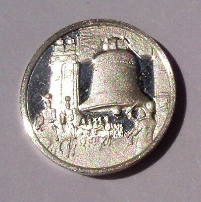 Franklin Mint STERLING SILVER Mini-Ingot 1914 PANAMA CANAL Opens UNCIRCULATED