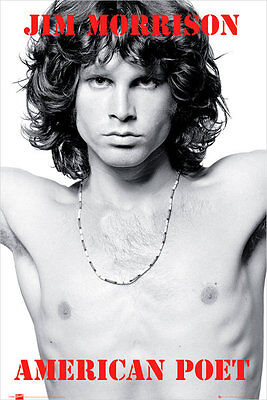 The Doors Jim Morrison American Poet  Poster 24x36