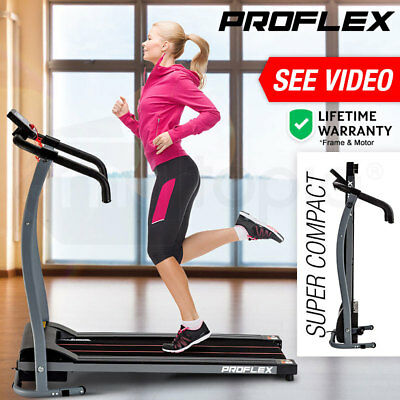 PROFLEX Electric Treadmill Exercise Equipment Machine Fitness Motorised Home Gym