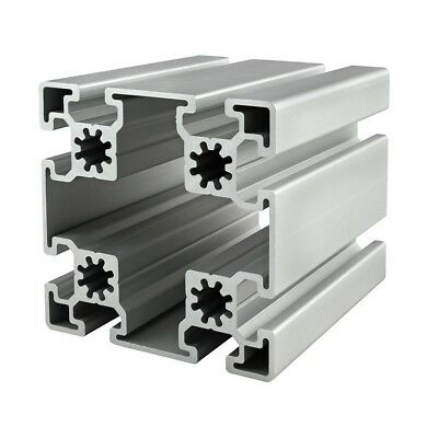 80/20 Inc T-Slot 90mm x 90mm Aluminum Extrusion 45 Series 45-9090 x 1220mm N