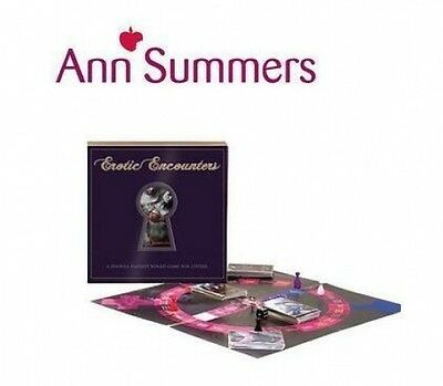 Ann Summers SEXY Erotic Encounters Fantasy sex fun Board Game Lovers Adult Game