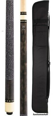NEW MCDERMOTT LUCKY L8 GREY GRAY Billiard Two Piece Pool Cue Stick & FREE CASE
