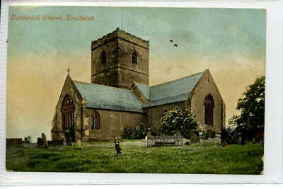 (Gc440-374)  Dodderhill Church, DROITWICH 1907 Used VG