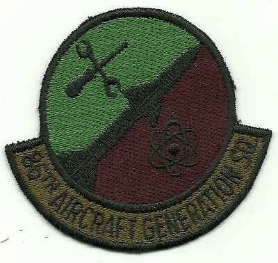 United States Air Force 86th Aircraft Generation SQ Military Patch