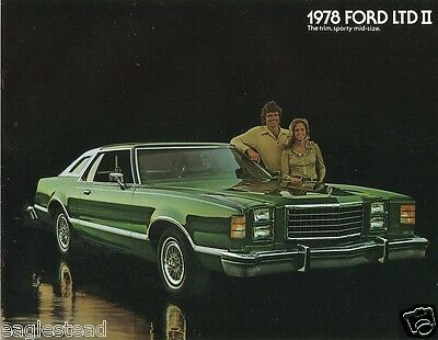 Auto Brochure - Ford - LTD II - Car - 1978 - The trim, sporty mid-size (AB174)