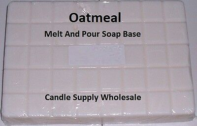 Oatmeal Melt And Pour Soap Base Soap Making Supplies ****free Shipping****