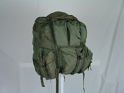 USGI Large ALICE Field Backpack Olive Drab Green LC-2 LC2 Pack Only Grade 3 Fair