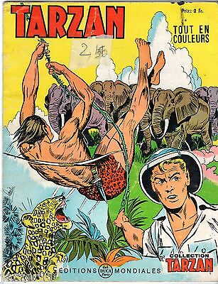 COLLECTION TARZAN n°39 # 1969 # EDITIONS MONDIALES DEL DUCA