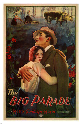 The big parade by King Vidor MOVIE POSTER 1925 24X36 Classic Vintage HOT NEW